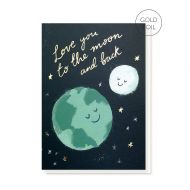Stormy Knight 'Moon and Back' Card